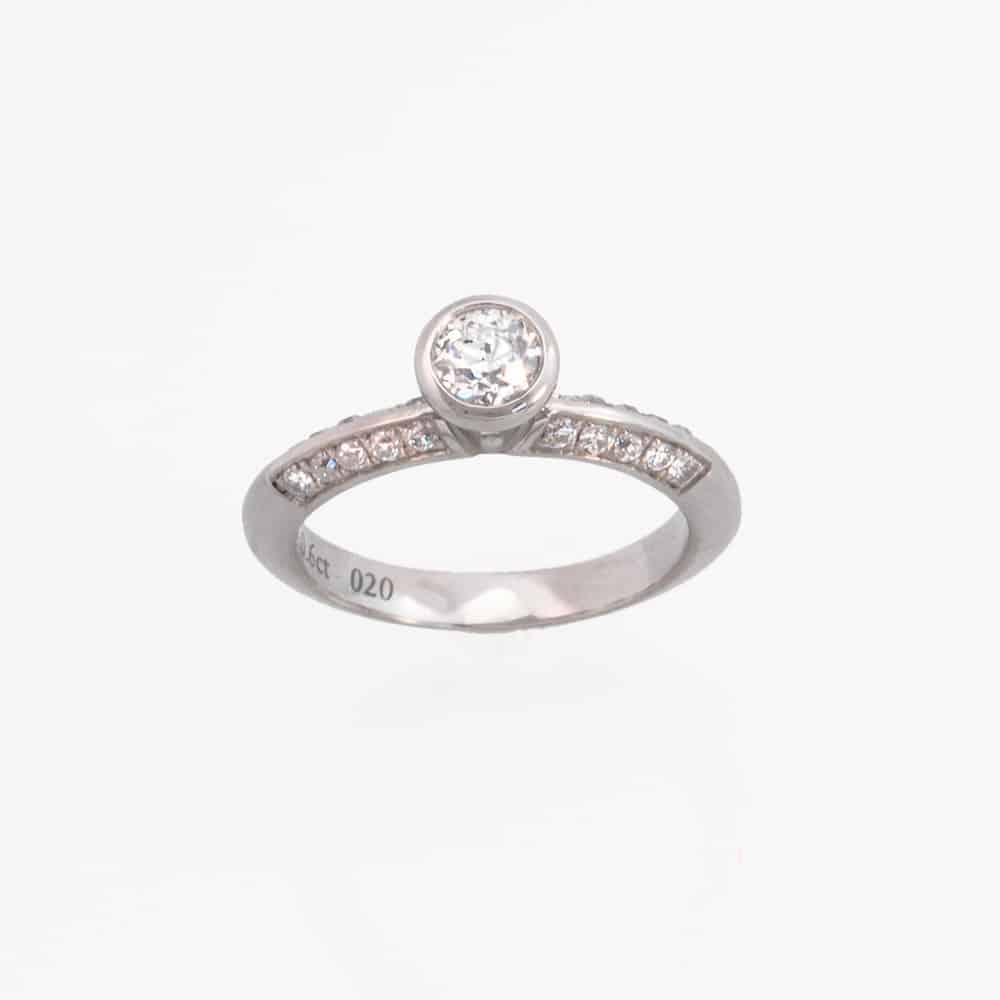Verlobungsringe Solitärringe Diamantringe nachhaltig und fairtrade aus der Schweiz kaufen