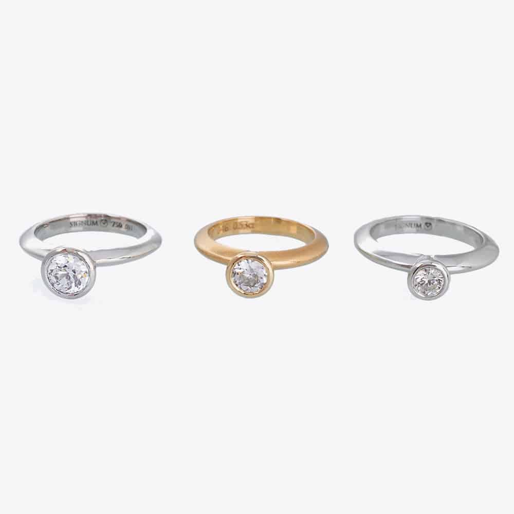 Verlobungsringe Solitärringe Diamantringe nachhaltig und fairtrade aus der Schweiz kaufen2020